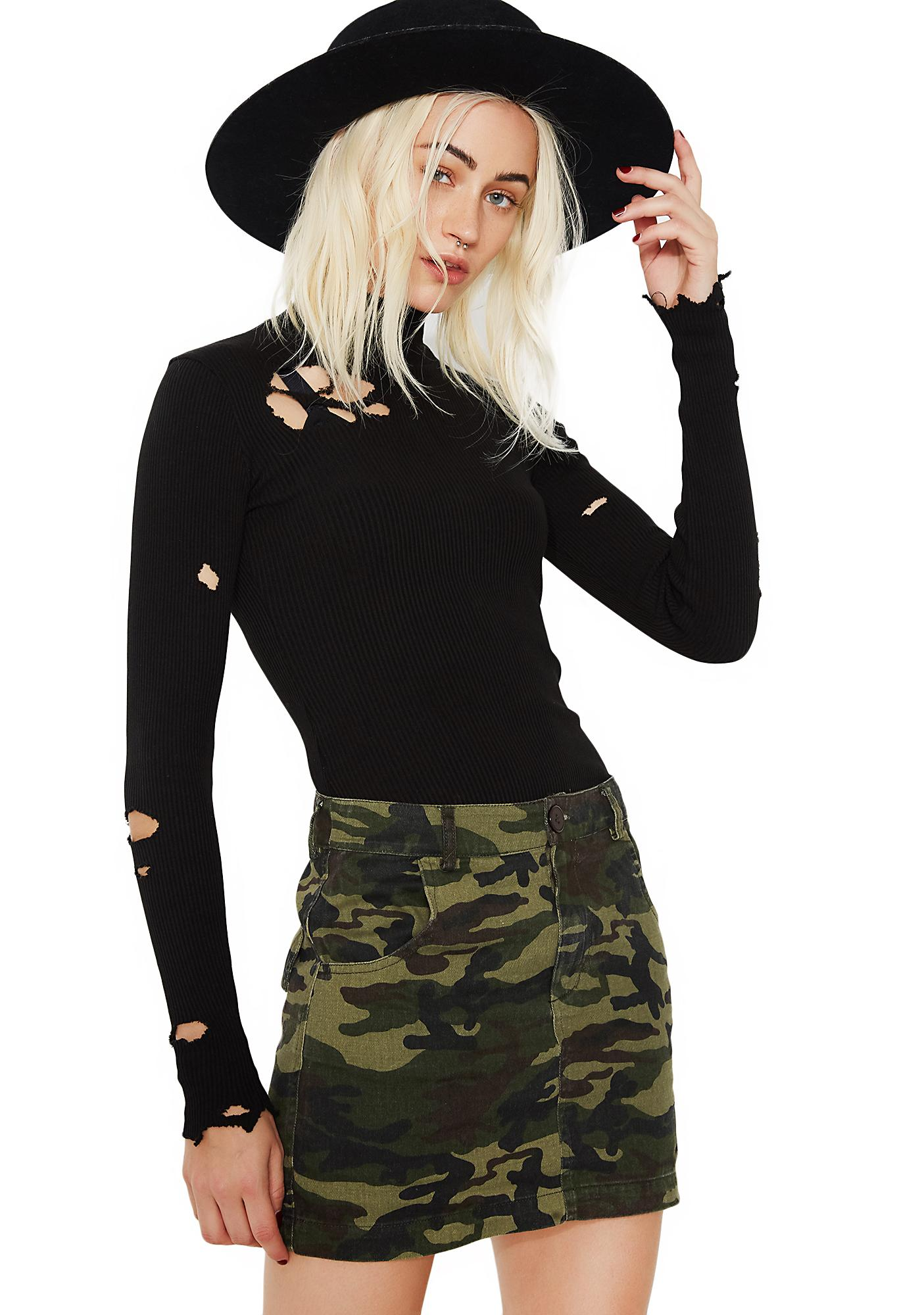 Out Of Sight Camo Skirt