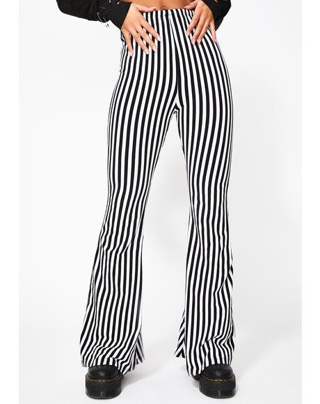 Malibu Stripe Stella Flares