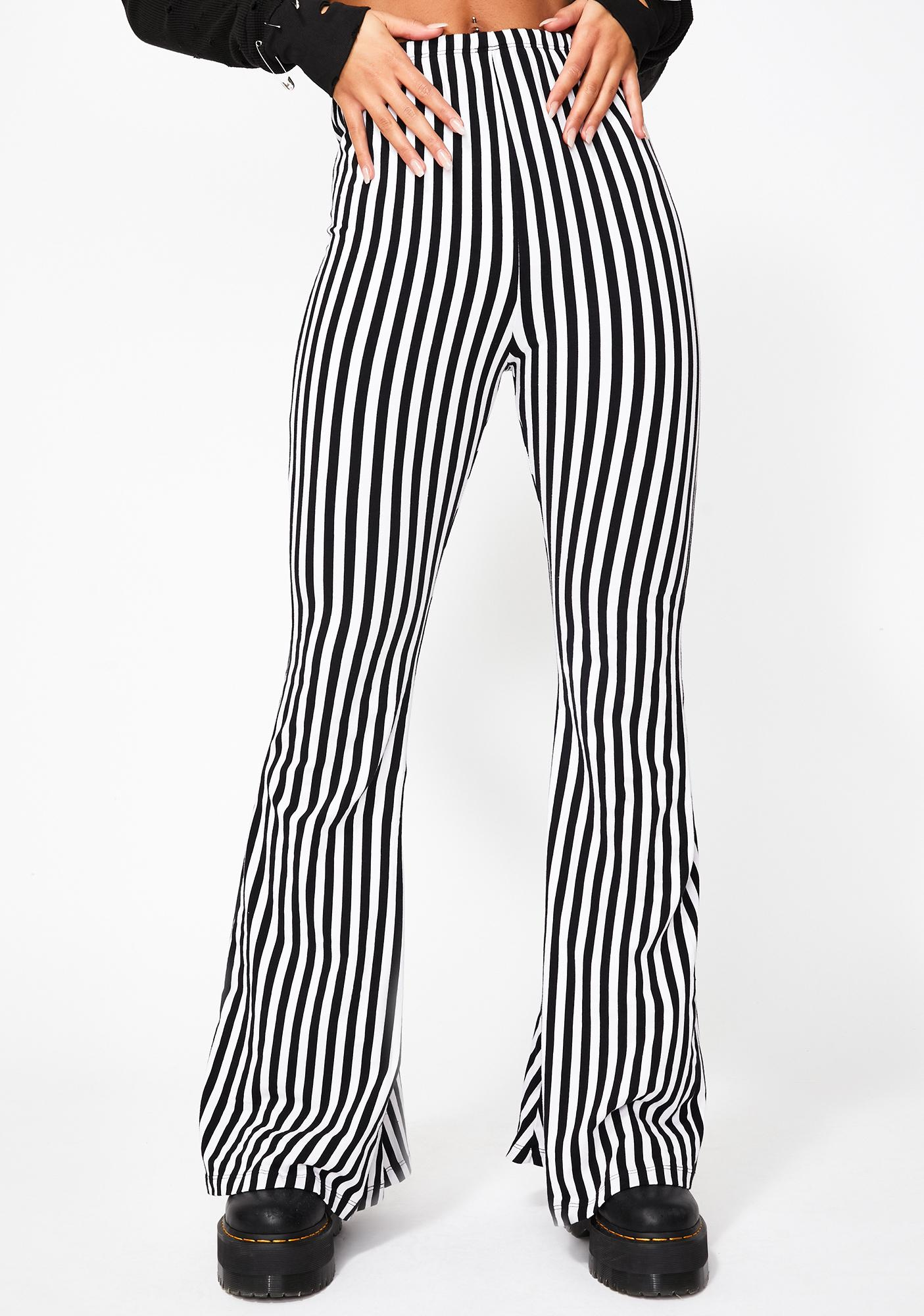 The People VS Malibu Stripe Stella Flares