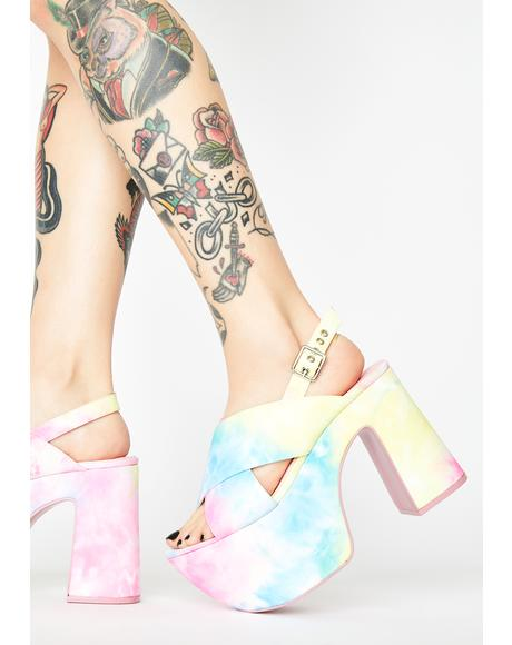 Teenage Dream Platform Heels