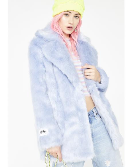 Sapphire Heather Coat