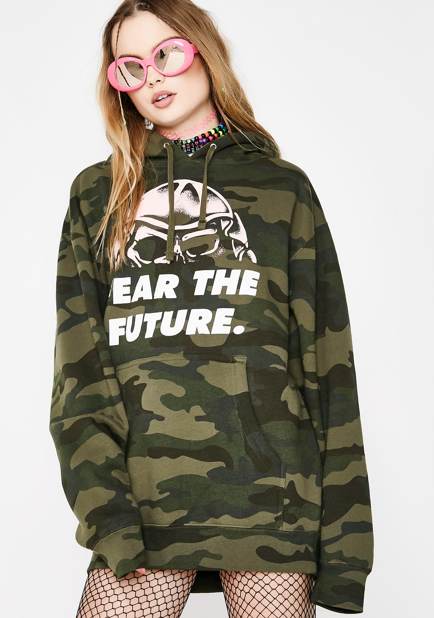 Flying Coffin Fear The Future Pullover