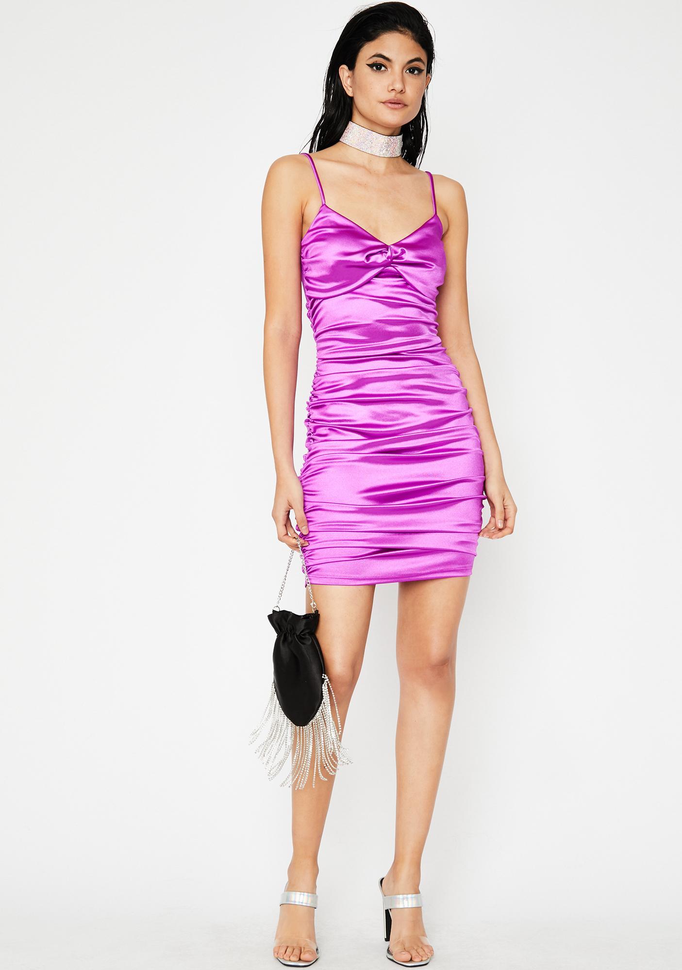 Divine Diva Satin Dress