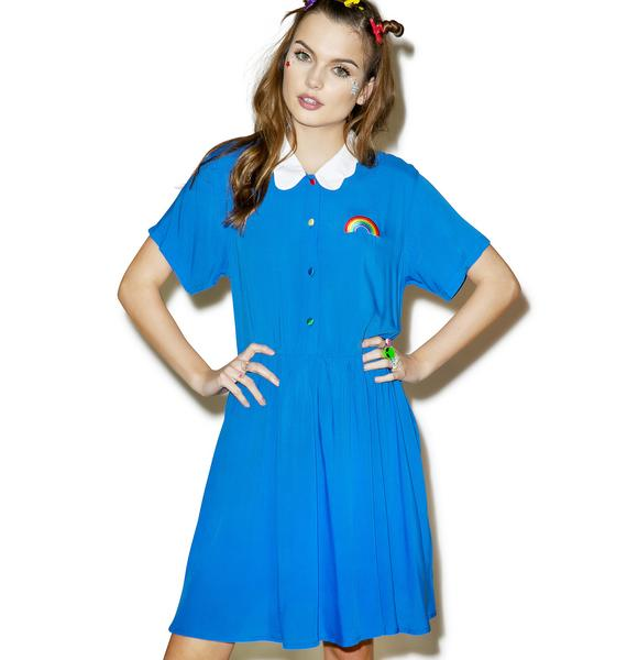 Lazy Oaf Cloud Collar Dress