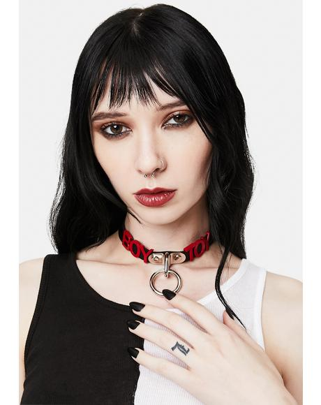 Boy Toy O-Ring Choker