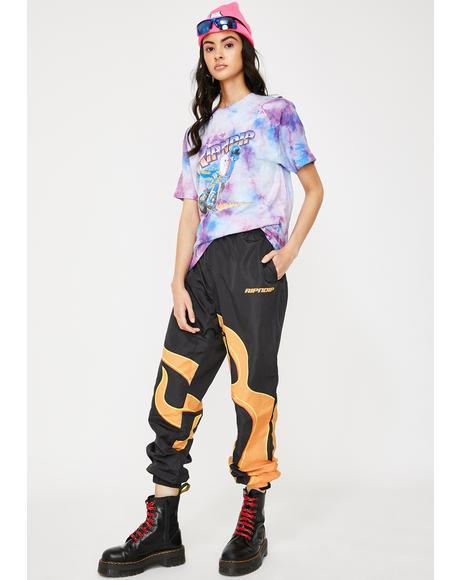 Flaming Hot Track Pants