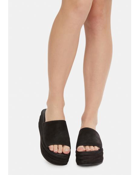Harbor Flatform Sandals