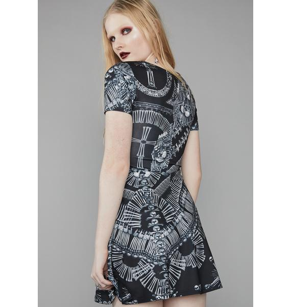 Widow Catacomb Crypt Skater Dress