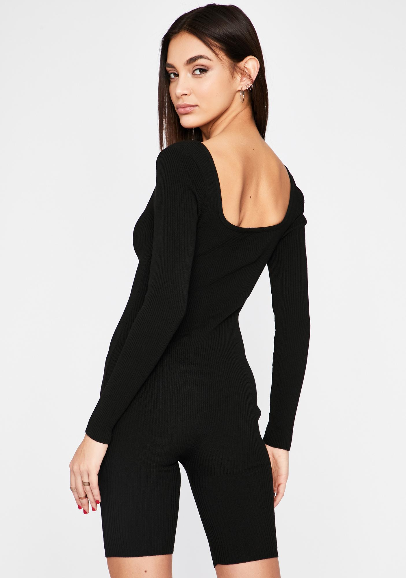Chaotic Reign Long Sleeve Romper