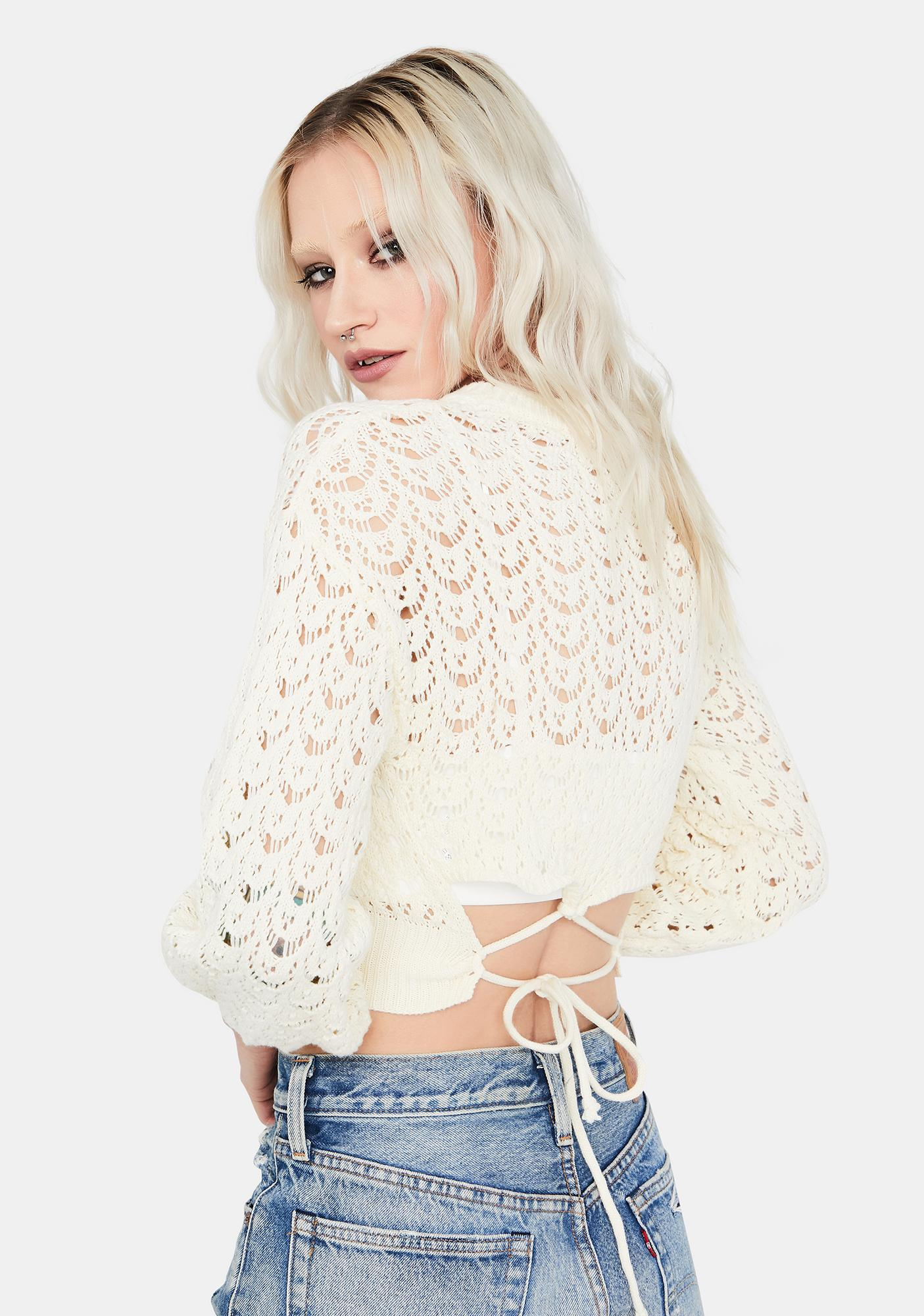 Legendary Love Knit Crop Top