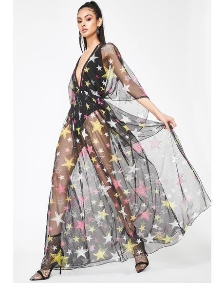 Ur A Star Maxi Dress