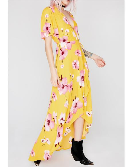 Flower Season Maxi Dress