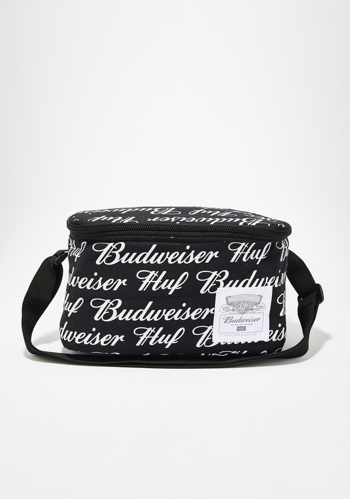 HUF x Budweiser 6 Pack Cooler