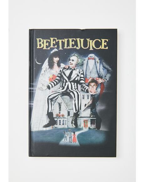 Strange N' Unusual Beetlejuice Journal