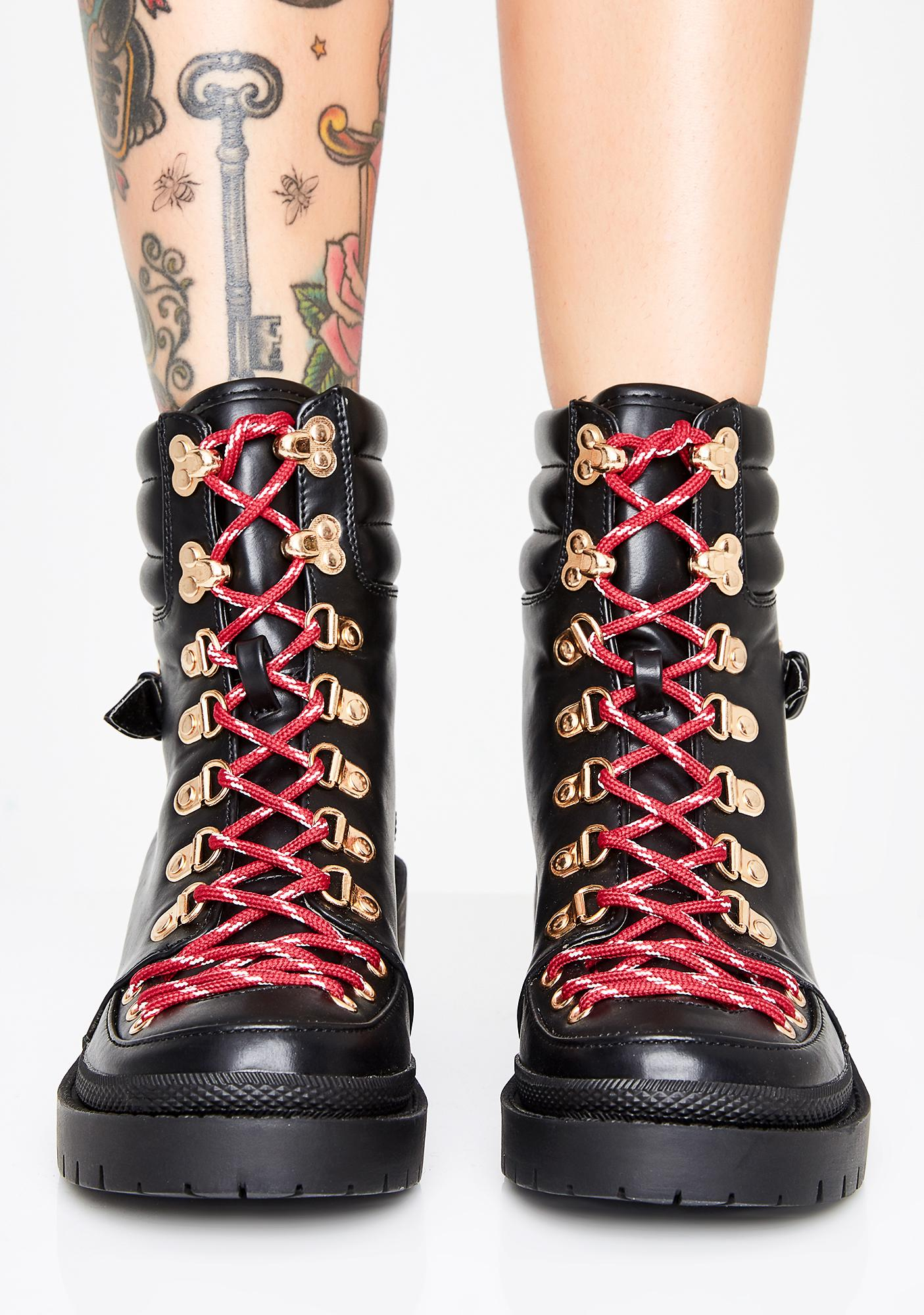 Summit Peak Chunky Boots