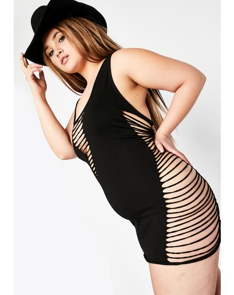 Mz Ride The High Bodycon Dress