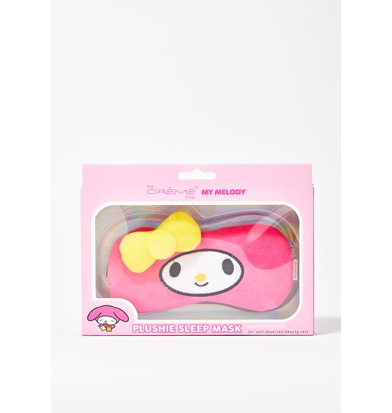 The Crème Shop My Melody Plushie Sleep Mask