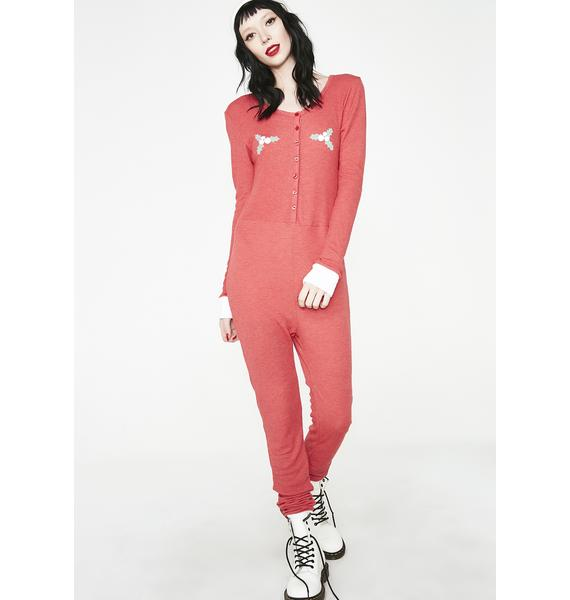 Wildfox Couture Holiday Fox Sleep-In Onesie