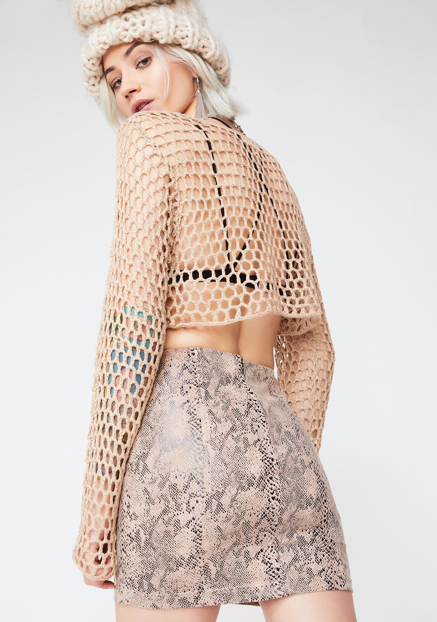 Dry Poison Mini Skirt
