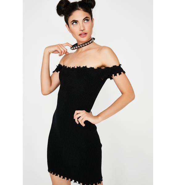 Follow Me Ribbed Dress