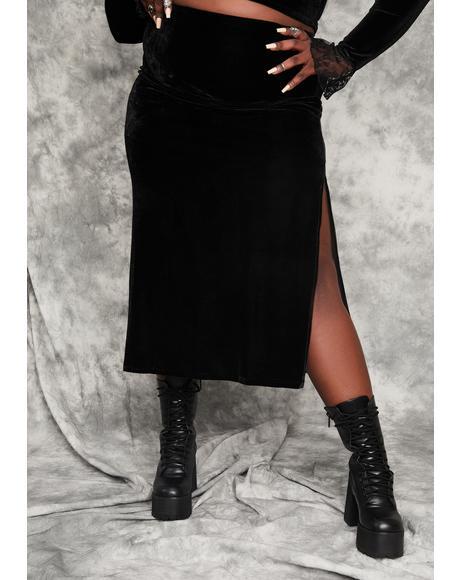 Divine Secret Incantation Midi Skirt