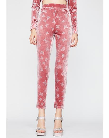 Candy Cute Complex Butterfly Pants