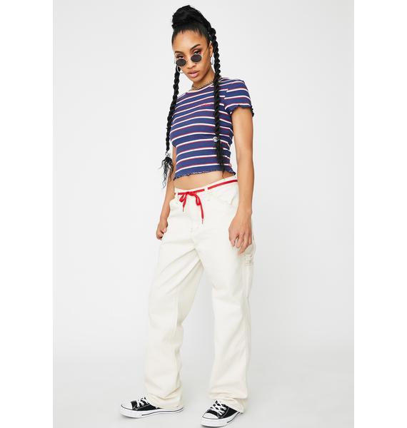 Dickies Girl Natural Carpenter Pants