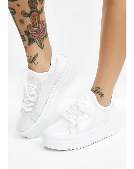 Girl Hype Platform Sneakers