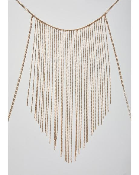 Cascade Queen Fringe Body Chain