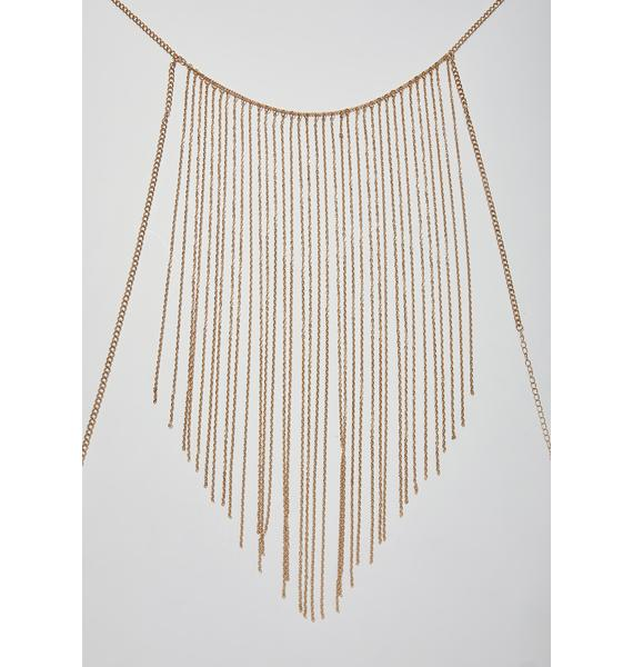 Cascade Queen Fringe Body Chain