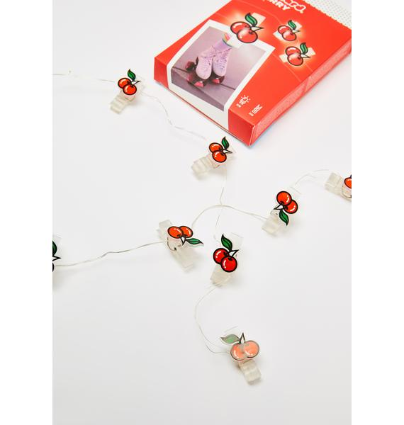 Sugar Sugar Cherry Light Clips