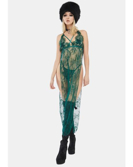 Envy My Love Sheer Gown Set