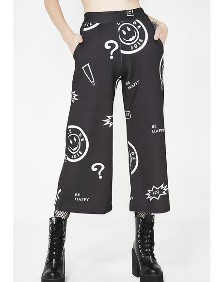 Question Mark Long Shorts