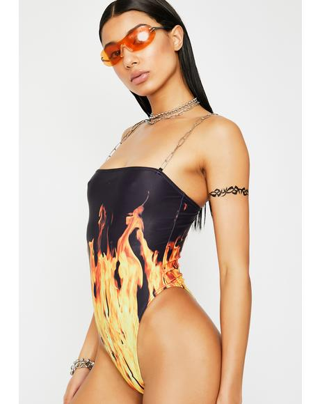 Inferno Mode One Piece Swimsuit