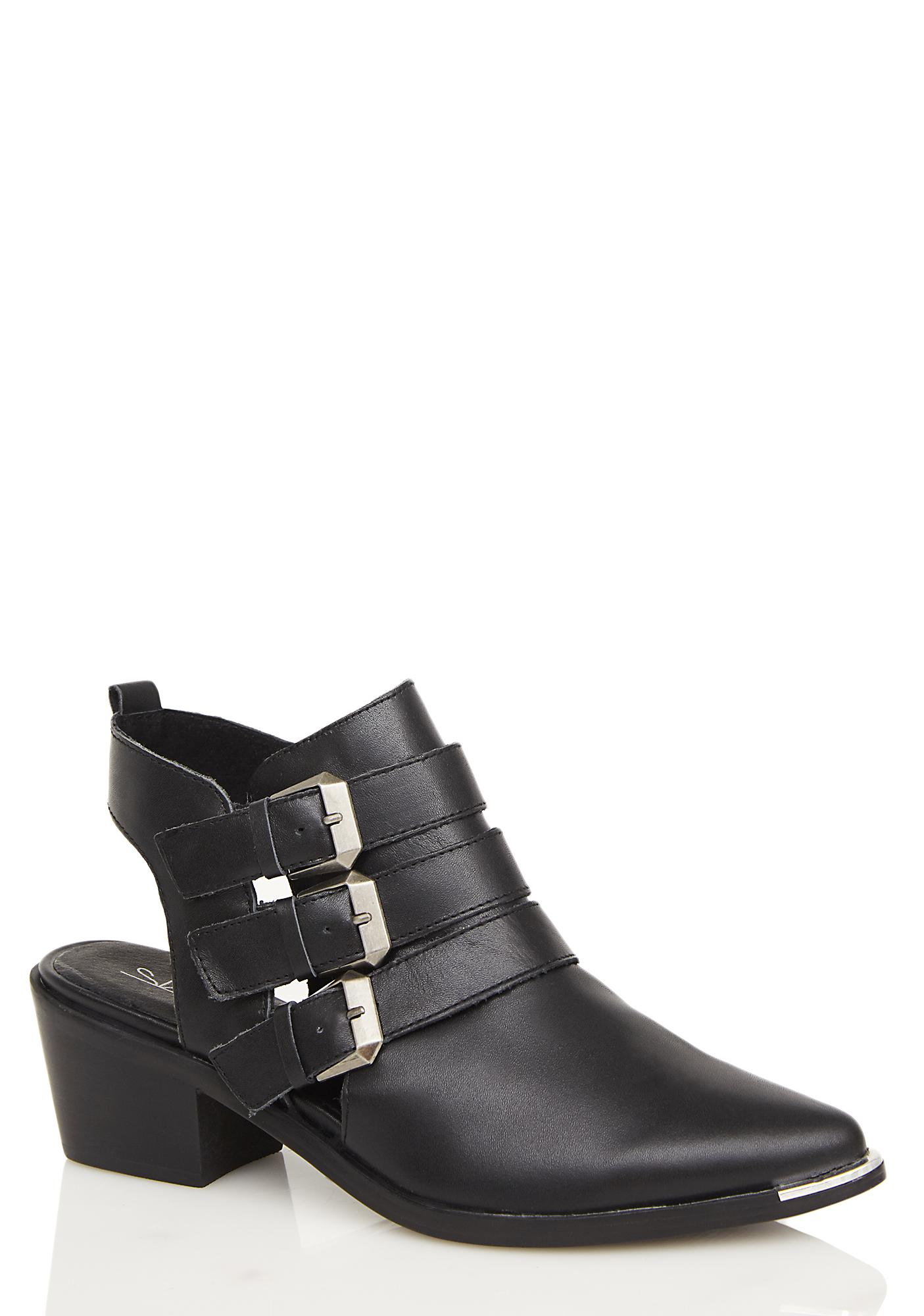 MTNG Nappa Cut-Out Bootie