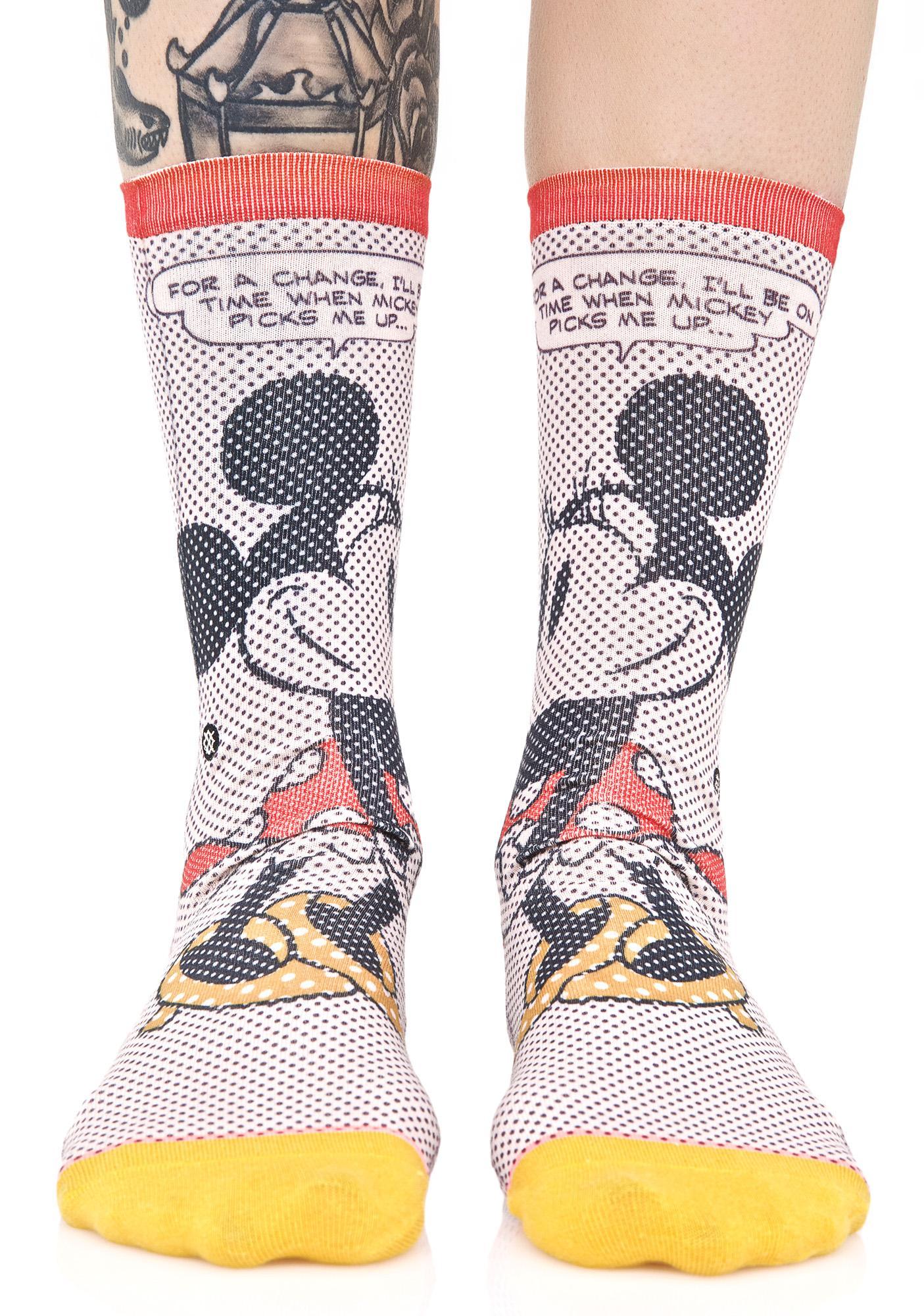 Stance Tick Tock Minnie Socks