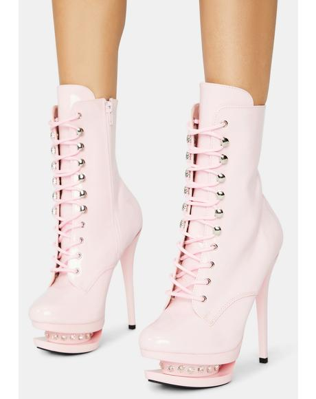 Check Me Out Platform Heels