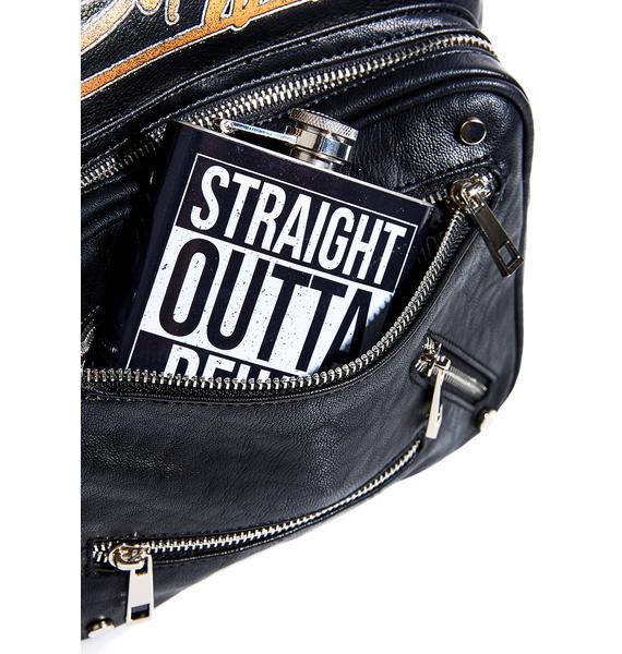 Straight Outta Rehab Flask