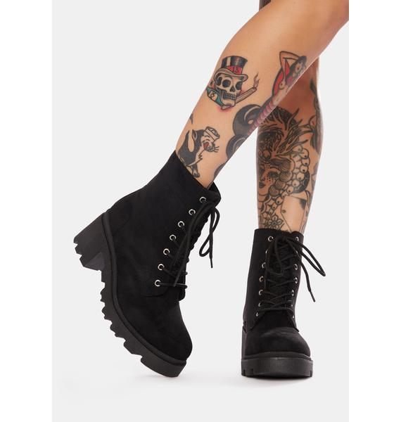 Make Some Noise Ankle Boots