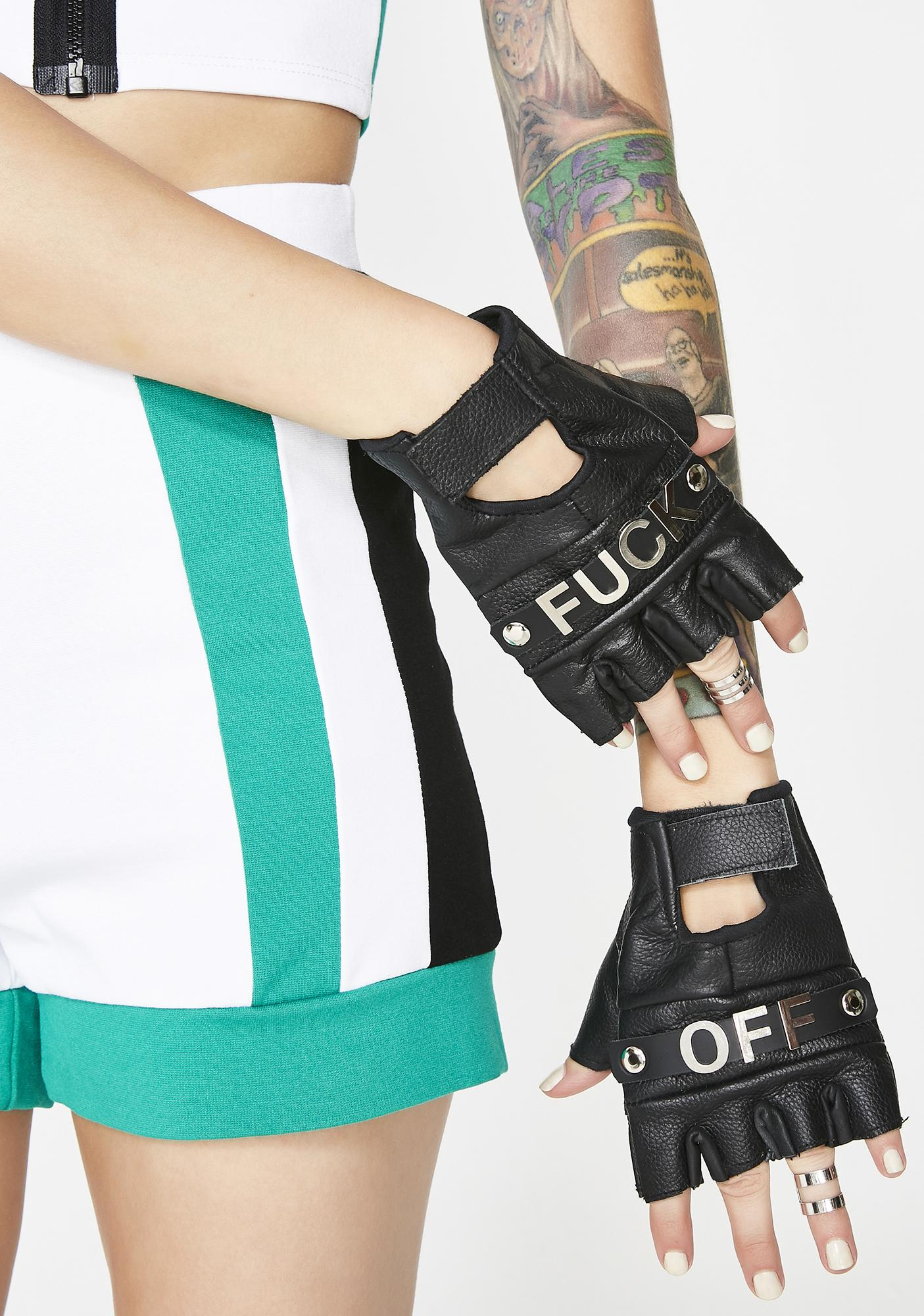 Wanna Rumble? Fingerless Gloves