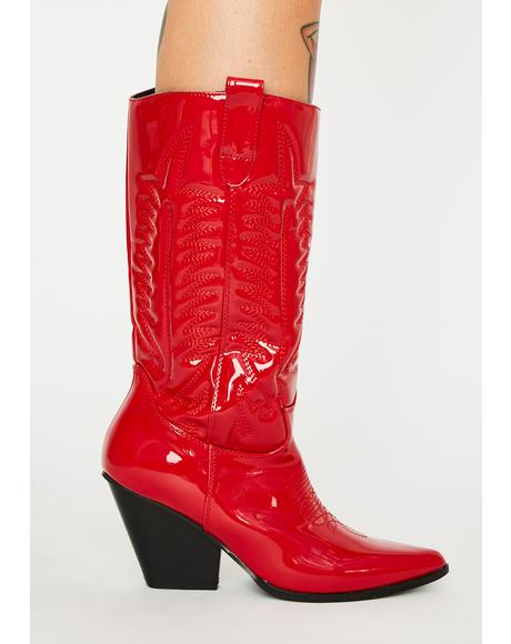 Hot Western Beauty Cowboy Boots