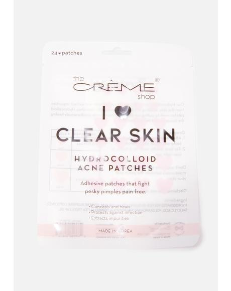 I Heart Clear Skin Hydrocolloid Acne Patches