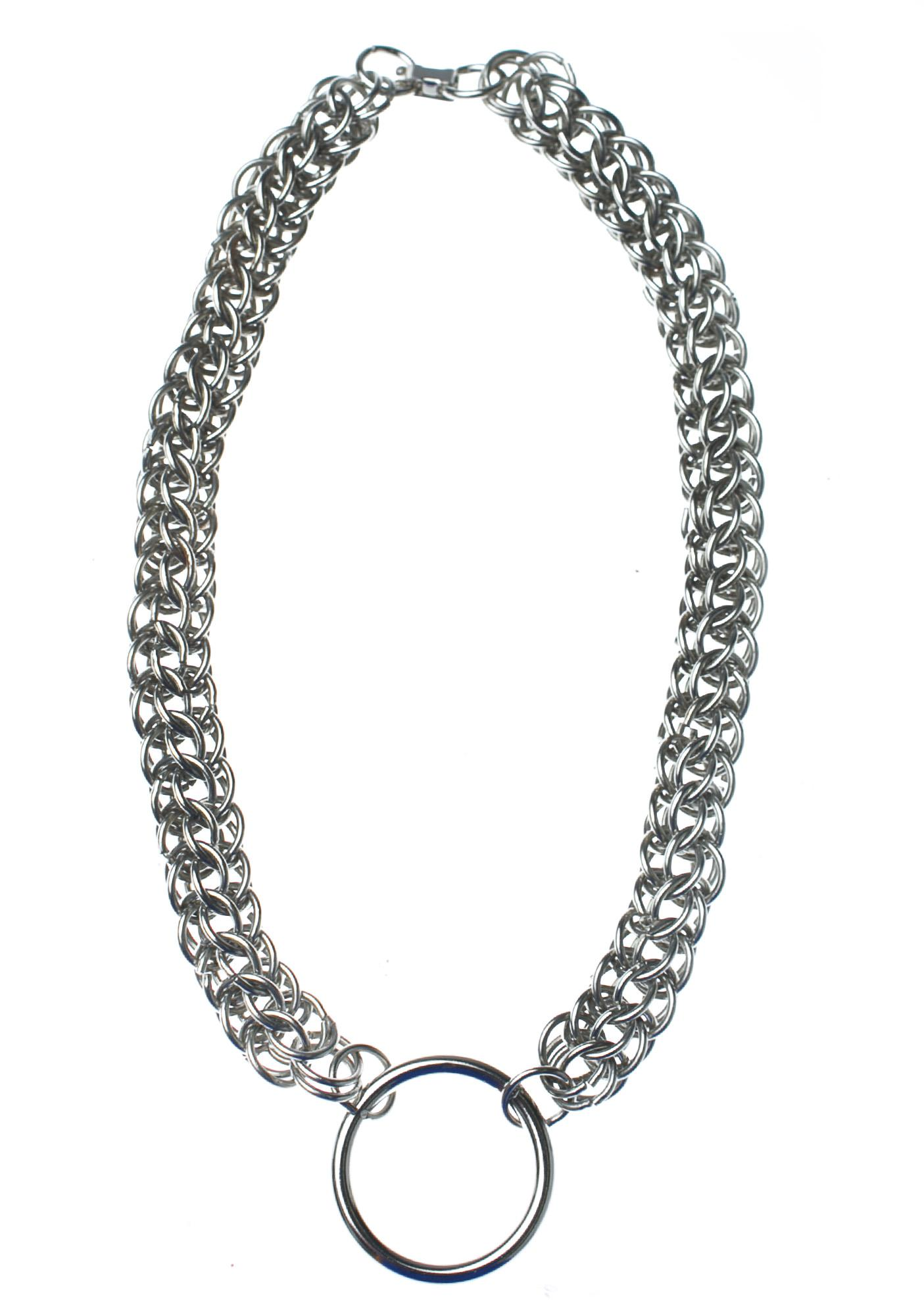 Club Exx Chained O-Ring Necklace