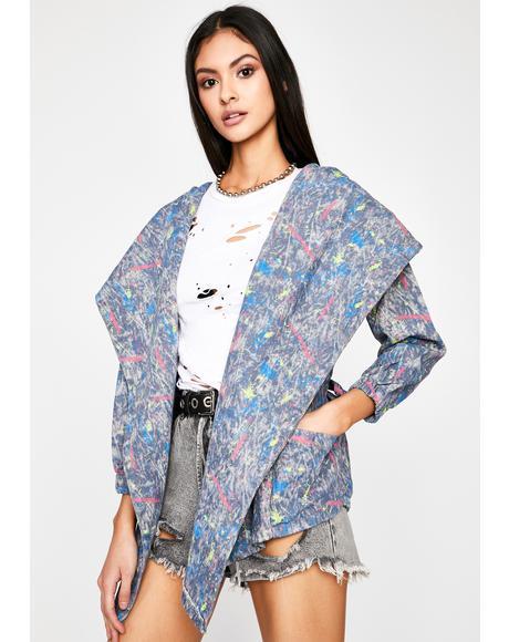 Offbeat Masterpiece Wrap Jacket