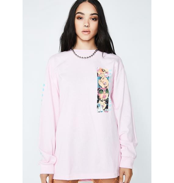 HUF Make Em Cry Long Sleeve Tee