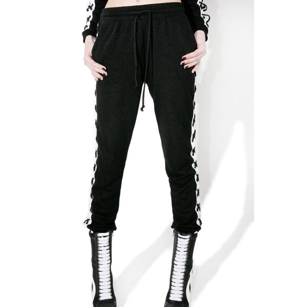 X Factor Lace-Up Sweats