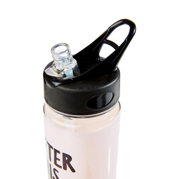 Workout Reward Water Bottle
