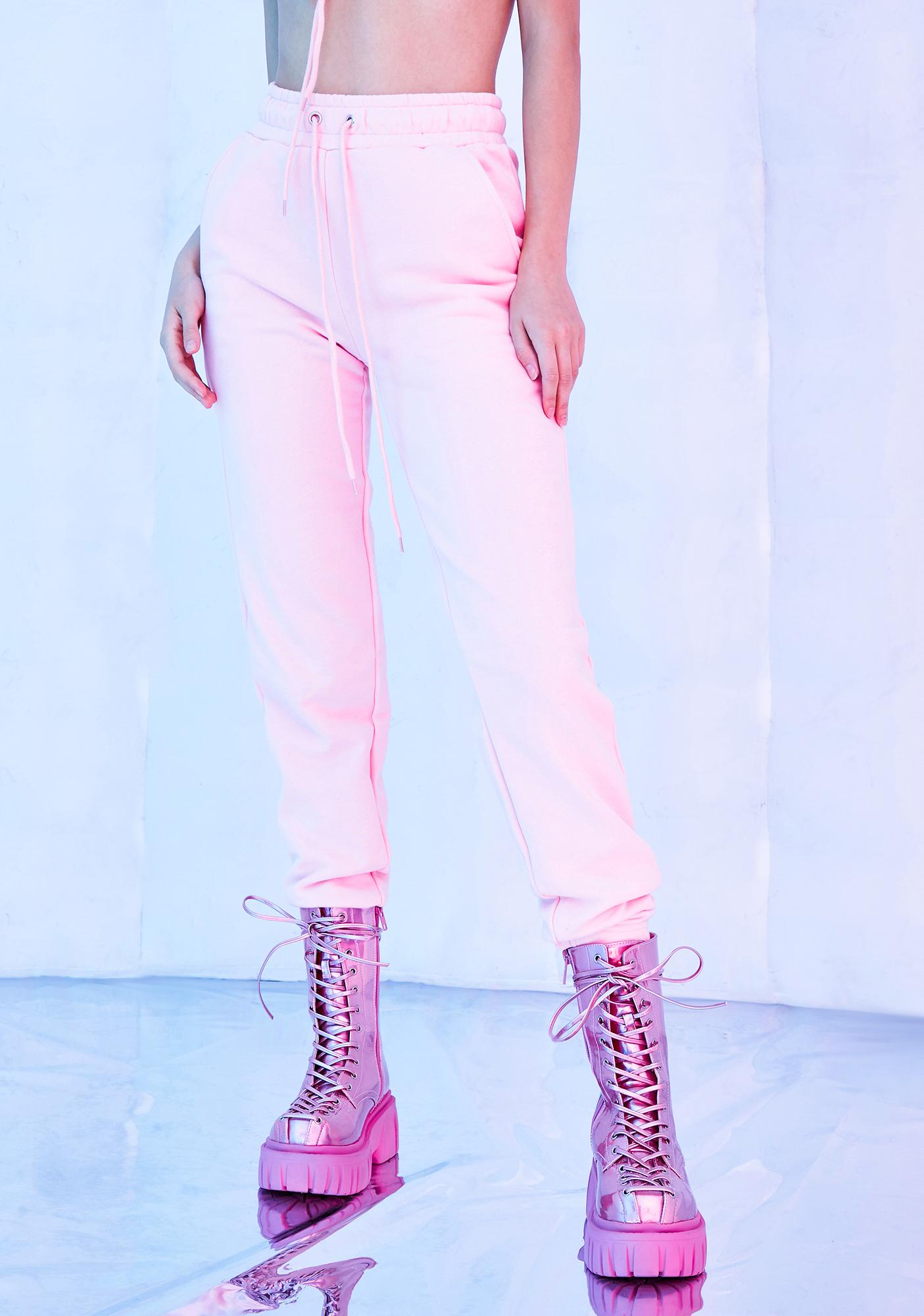 Club Exx Fairy Flurry High Waist Joggers