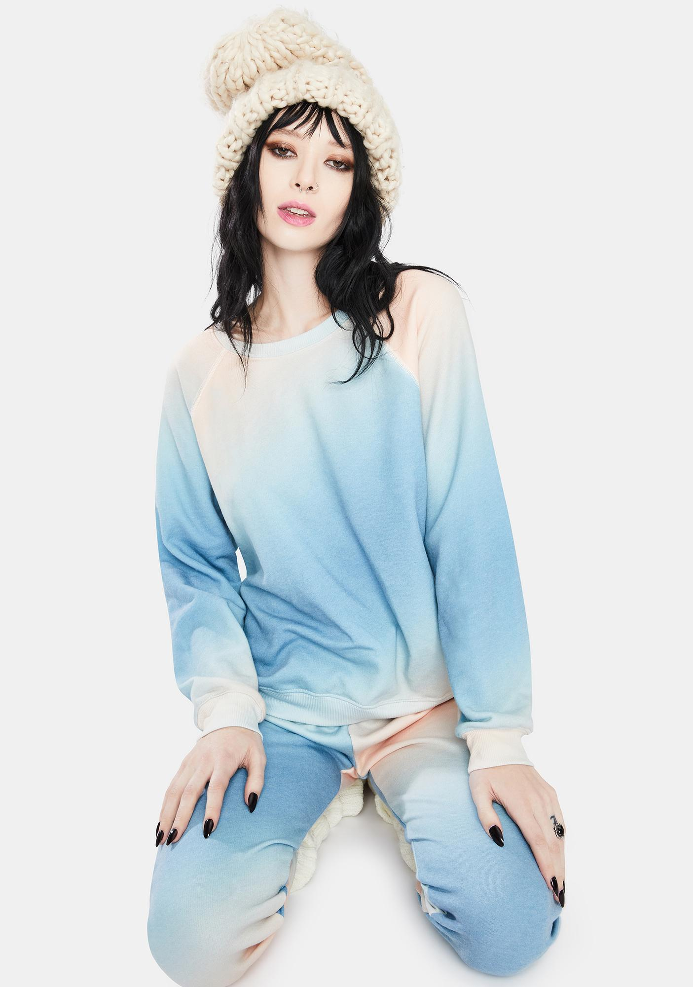 Wildfox Couture Grotto Sommers Crewneck Sweatshirt