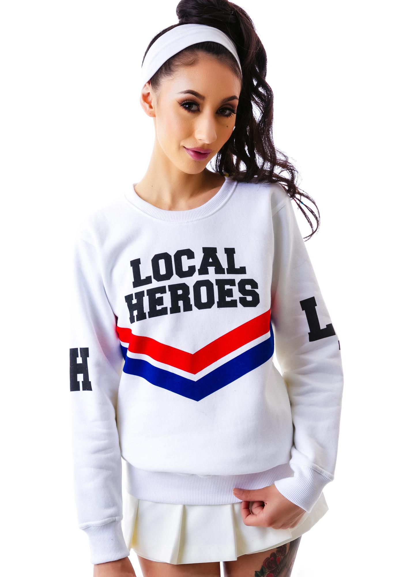 Local Heroes Cheerleader Sweatshirt